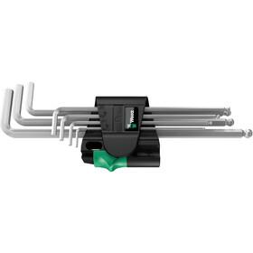 Wera 950 Hex-Plus Magnet 1 Ensemble de clés Allen avec 7 Pièces